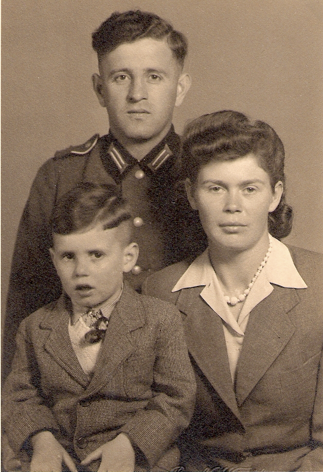 Dieter, Jakob und Hedwig Gerber