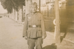 Jakob Gerber in Chalon-sur-Saone, Sommer 1940